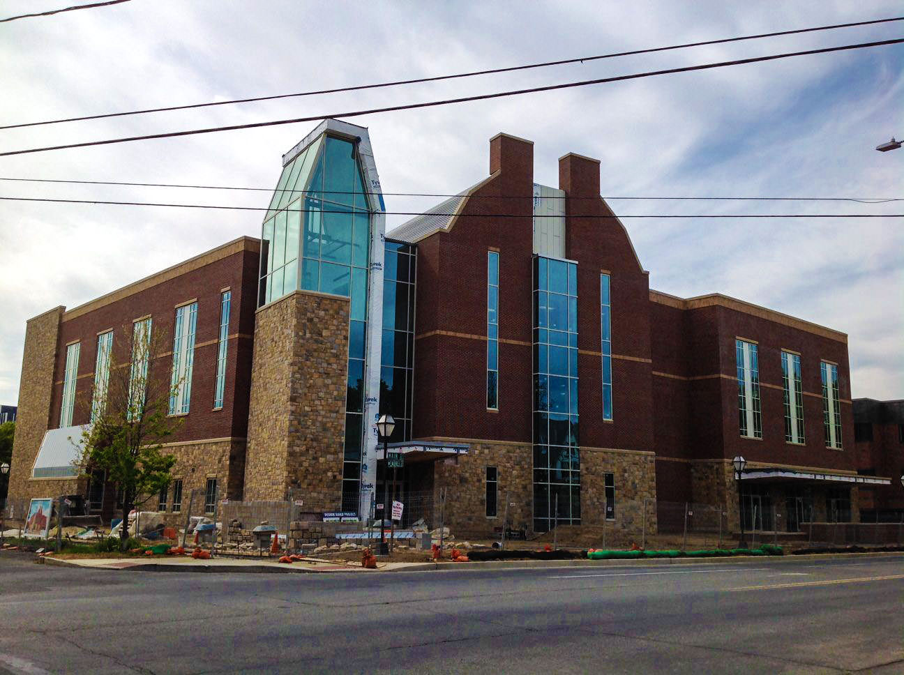 Sneak peak at Moravian College's new Sally Breidegam Miksiewicz Center for Health Sciences Building!