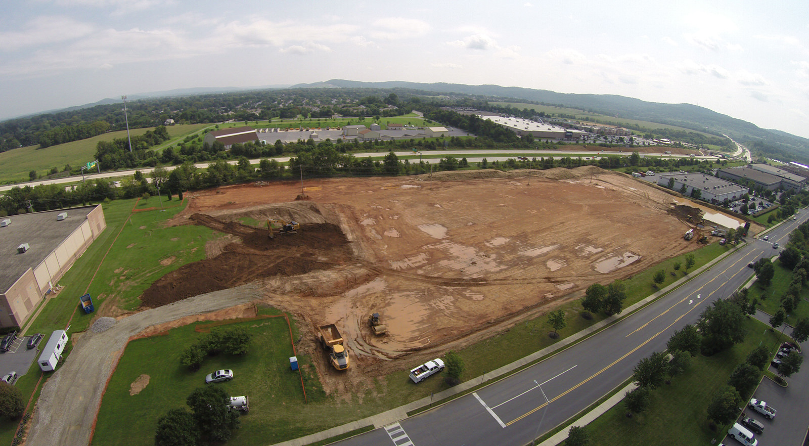 J.G. Petrucci Breaks Ground on 168,000 Square Feet of Industrial Space in the Lehigh Valley