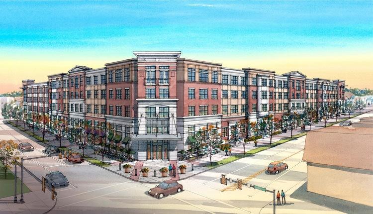 $75 Million Urban Redevelopment Project Breaks Ground