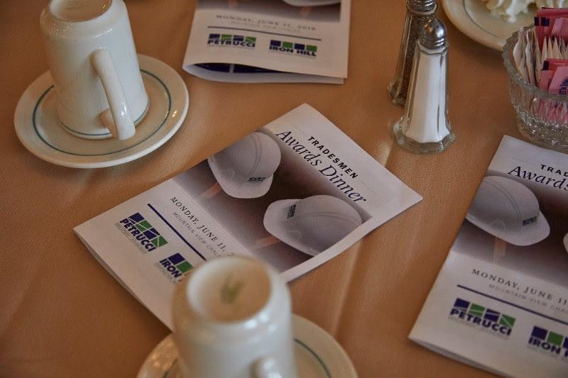 19th Annual Tradesmen Dinner & Awards!