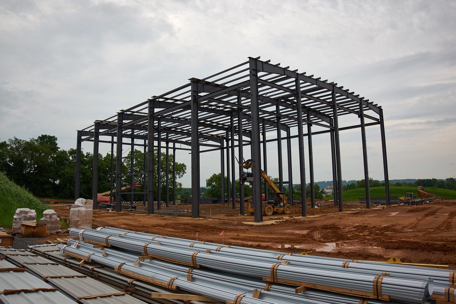 Steel is going up in Forks Township!