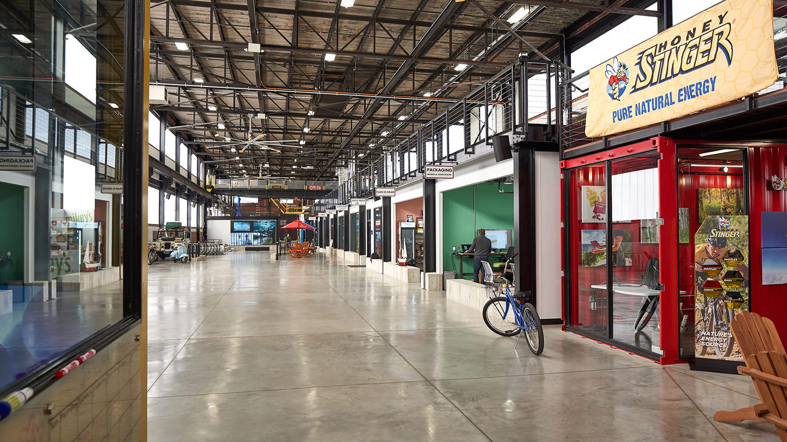 Repurposing a former Bethlehem Steel building for new food and beverage companies to collaborate