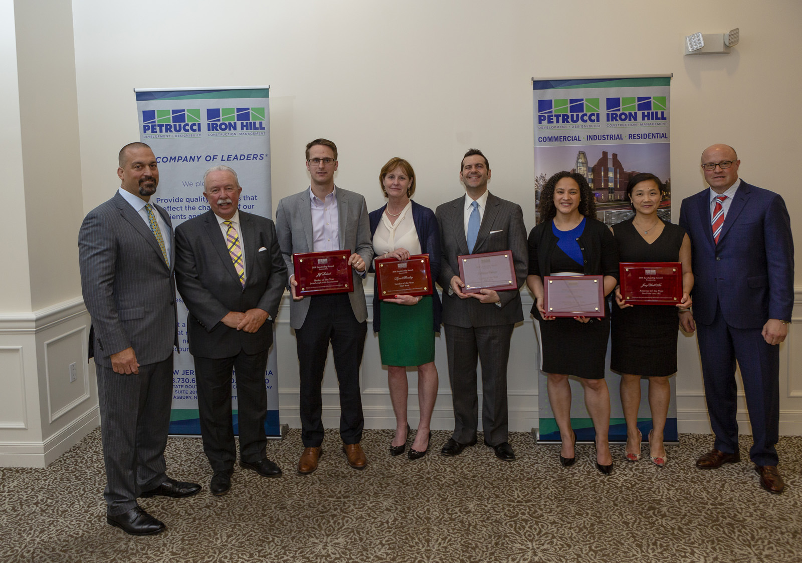 J.G. Petrucci Honors Top Attorneys, Brokers, and Lenders at Annual Awards Dinner