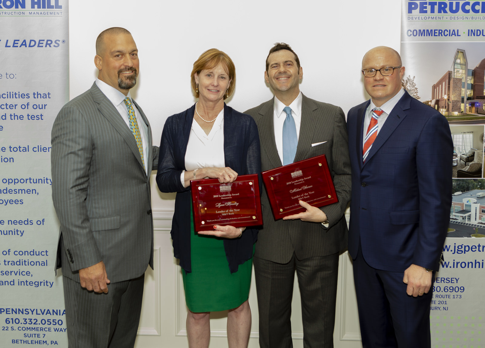 New Jersey Lender of the Year Lynn Bradley & Michael Saraco, M&T Bank Your impressive knowledge and understanding of New Market Tax Credits enabled J.G. Petrucci's project for South Second Street Youth Center to be delivered on time and on...